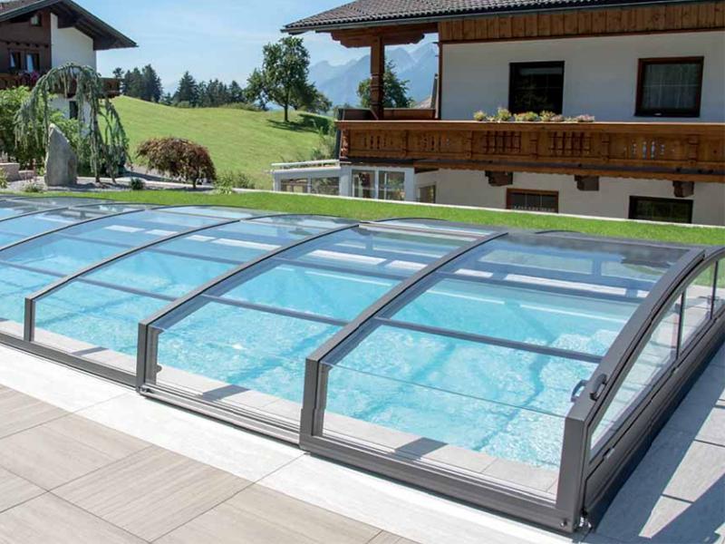 Sistemi di copertura per piscine hellas piscine for Teli copertura piscine