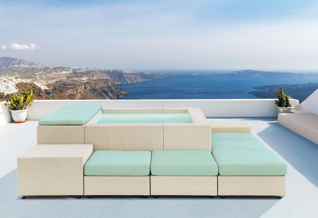 Vendita minipiscine e piscine fuori terra hellas piscine for Piscina laghetto playa